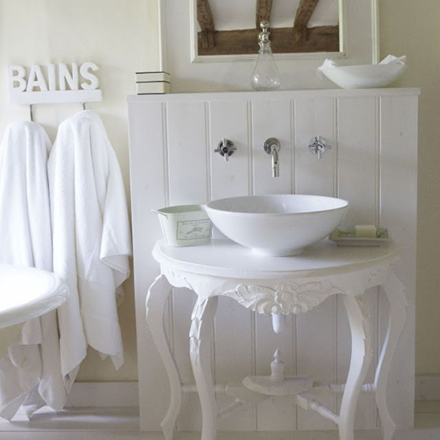 7931 best Shabby chic bathrooms images on Pinterest | Bath room ...