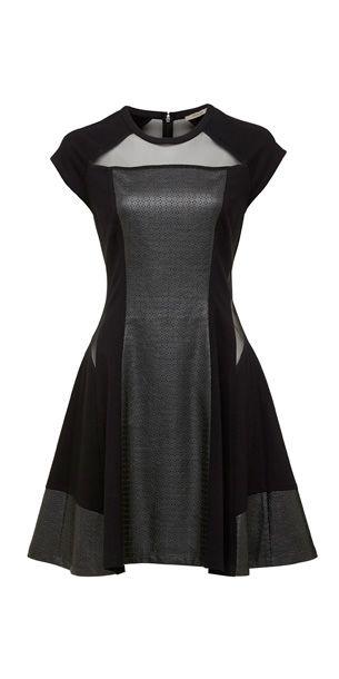 Animal Instinct Dress - Black
