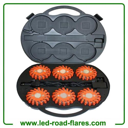 China Rechargeable 6 Packs LED Traffic Warning Light Emergency LED road Flares Safety Beacon LED Traffic Warning Hazard Lights Red Manufacturers Led Road Flares 6 Pack,Rechargeable Led Road Flares Red, 6 Packs Led Road Flares Red, Led Road Flares Red