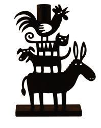 Donkey Pyramid Candle Holder designed by Bengt & Lotta