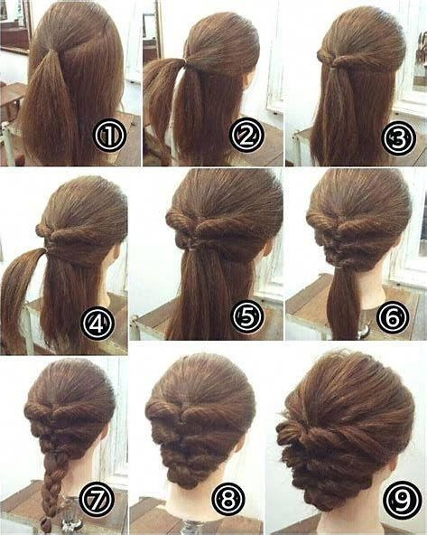 Image Result For Easy Updos For Medium Hair Naturalhairstyles