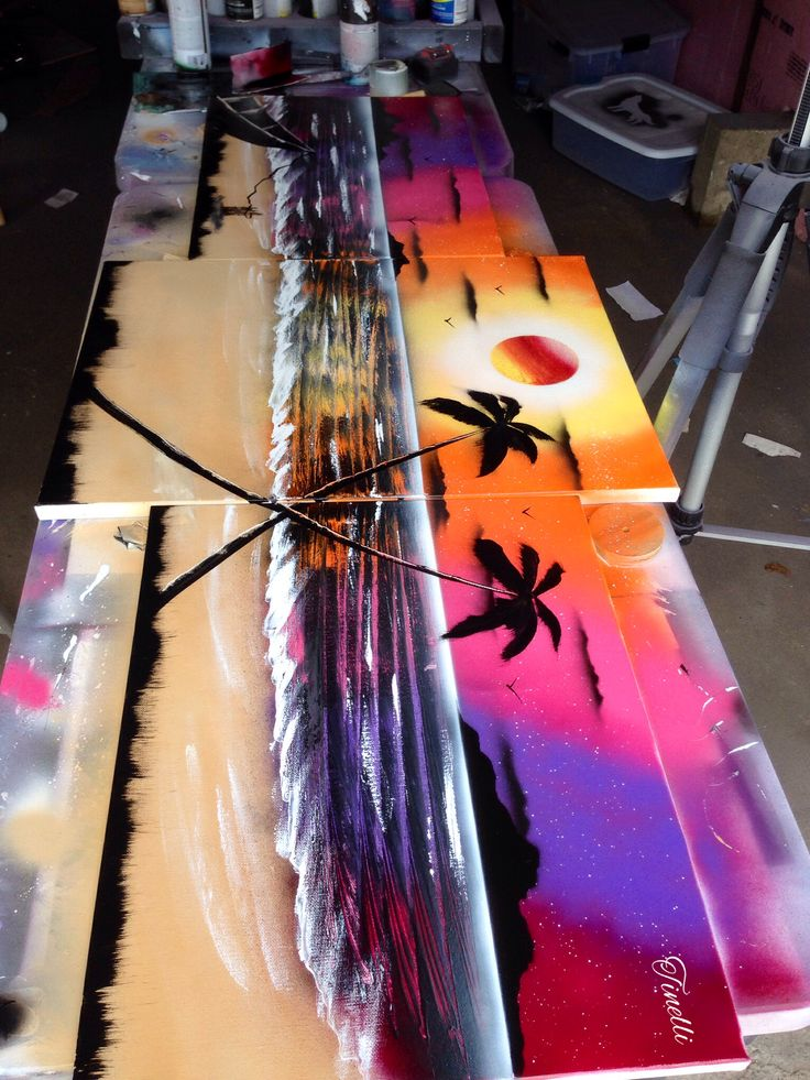 Click the pic above to watch it being made... By Holy Terror SprayArt