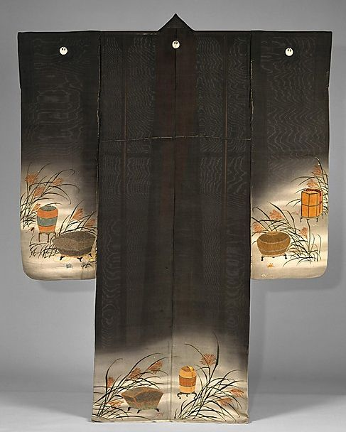 Yusen kimono, late 19th century, Japan