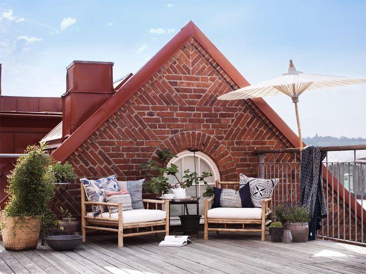 Inspiration utemöbler till altan och balkong - Sköna hem