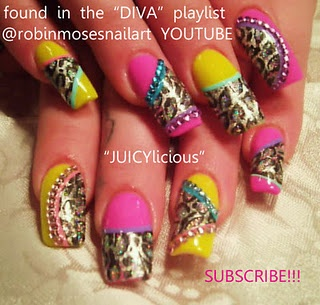 juicylicious diva nail art  http://www.youtube.com/watch?v=GBspSpej39A