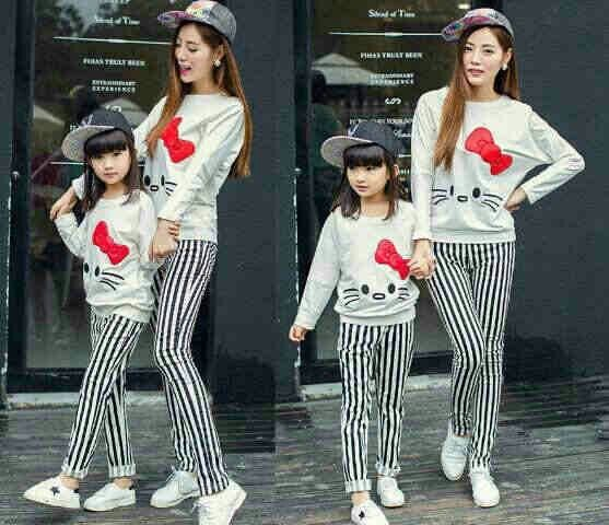 #couple #mom & #kid (kid 2-5y, mom fit to L) @ 160.000