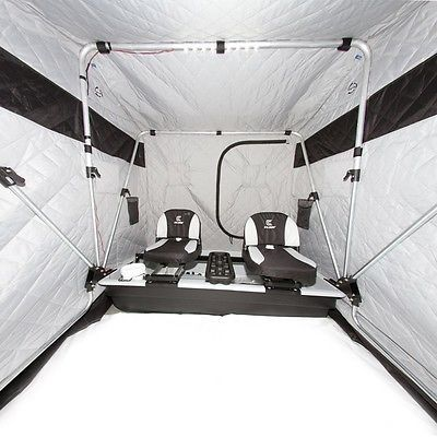 25 best ideas about ice fishing shelters on pinterest for Ice fishing shanty for sale