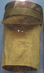 Joseph Merrick - cap and hood
