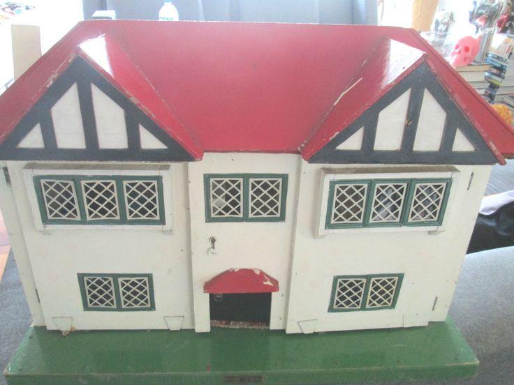 RARE VINTAGE LARGE DOLLS HOUSE MADE BY AMERSHAM TOYS ENGLAND   eBay