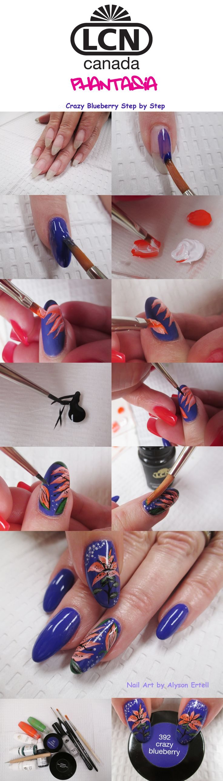 245 best LCN Gel Nails with Nail Art images on Pinterest | Gel nail ...