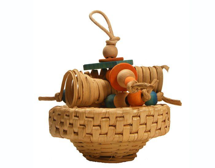 The Spunky Parrot - Boca Surf Forager #birdtoy (http://www.spunkyparrot.ca/toys/boca-surf-forager/)