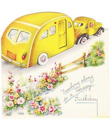 Best 25 Vintage Birthday Cards Ideas On Pinterest Happy