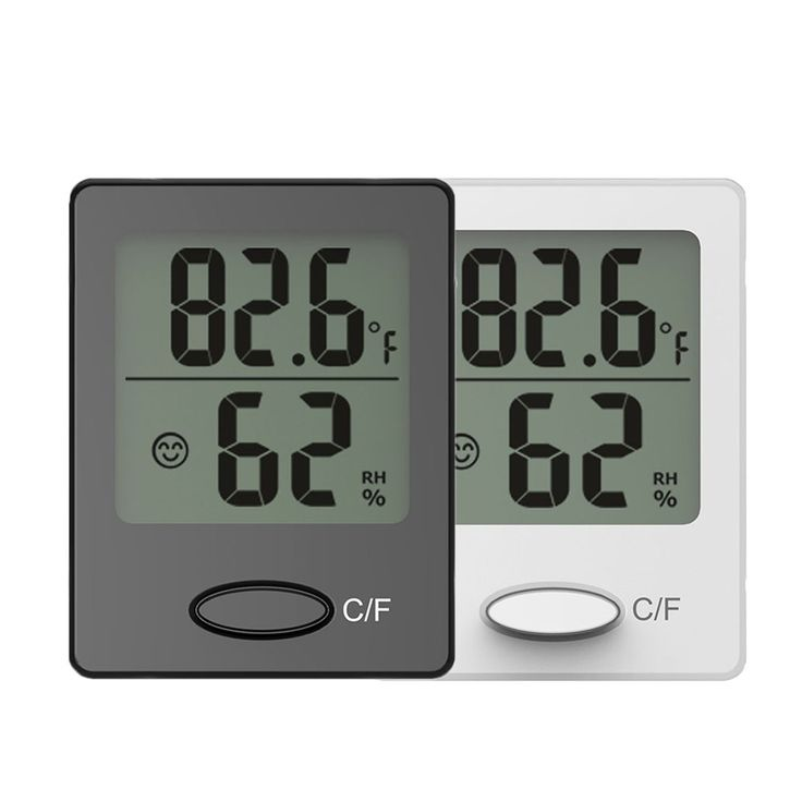 Baldr Mini Digital Thermometer has Temperature display in Celsius or Fahrenheit. It has Relative humidity range at 10%~99%. It has magnet attaching, wall hanging and table standing. It's Temperature range is-40~60C (-40~140F) and Accuracy about +/-1.0 C. You can find more details and offers in our website