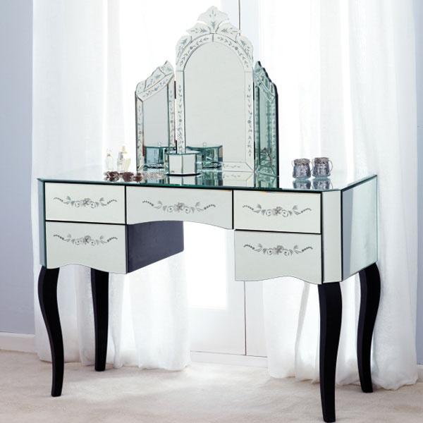 parisian mirrored 4 drawer chest 2