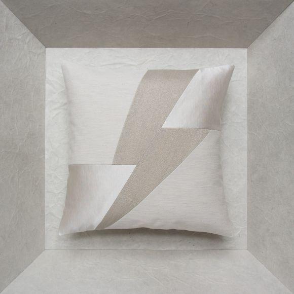 Coussin pour canapé / carré / en cuir / en tissu GLORIA MAISON POPINEAU