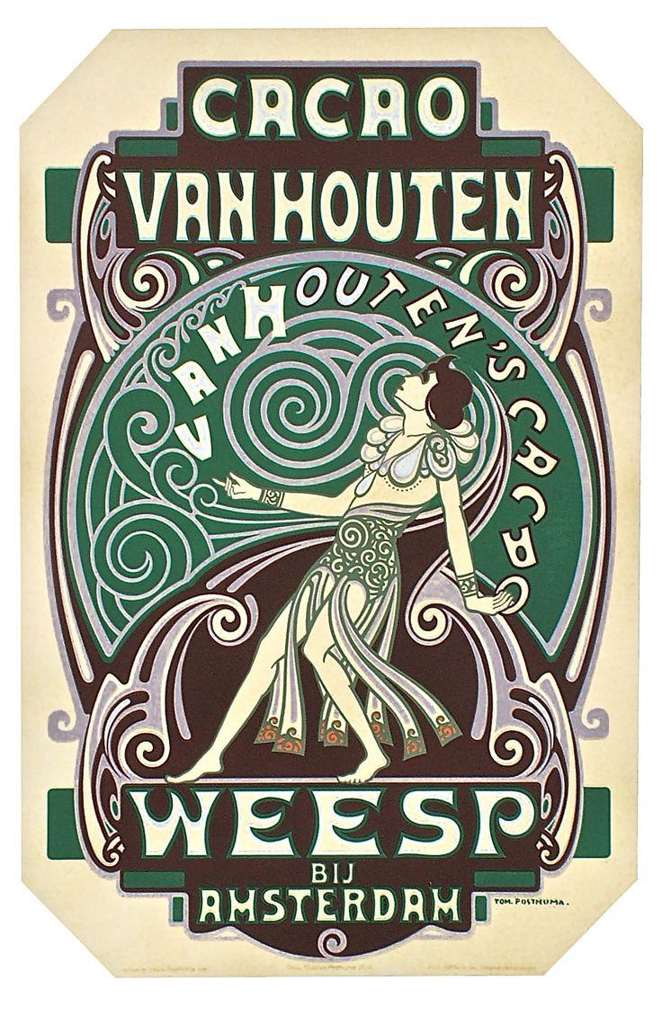 GRAPHIC (NEDERLANDS) ca 1920. De Nederlandse grafisch ontwerper Thom Posthuma sr.