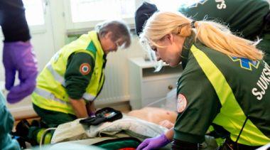 Ambulans Samariten. Foto: Ulf Huett.