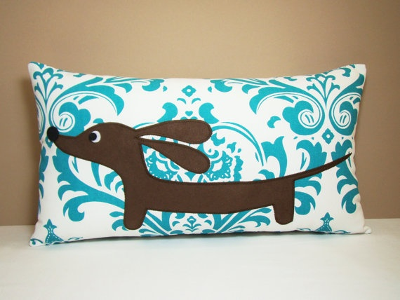 Soo buying this! Dachshund pillow