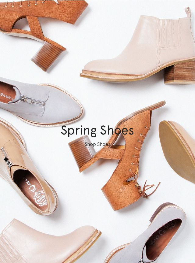 Spring Shoes // Email Design // Need Supply Co. More