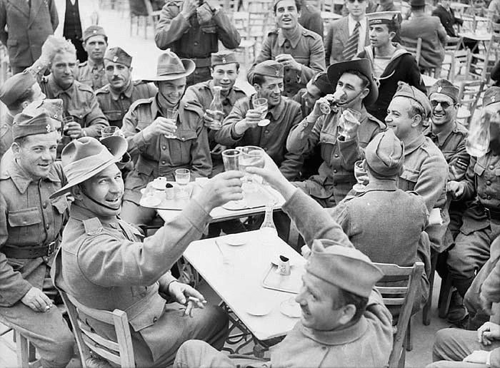 Anzacs and Greek soldiers sharing a drink before the onslaught of the German military machine. Australian writers, Dr Maria Hill and Peter Thompson seek the truth over the role Anzacs and Greeks played in World War II.
