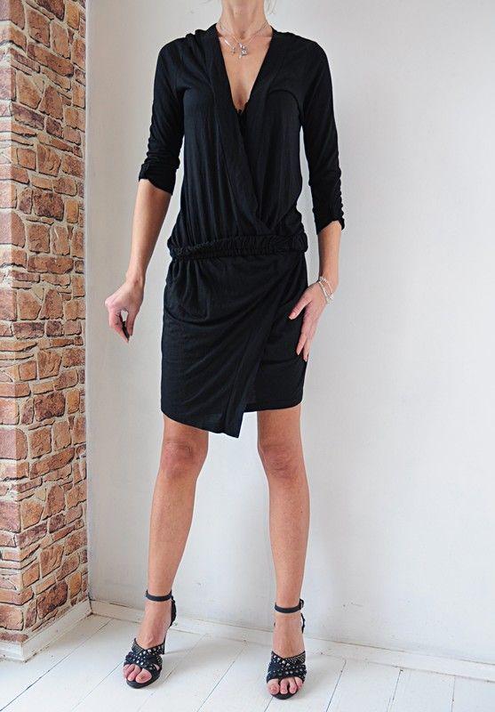 6258cab7e9e9fc sukienka Destinee czarna r. 34 in 2019 | dress | Dresses, Black, Fashion