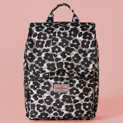 Leopard Flower Smart Backpack