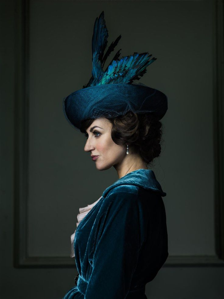 "Katherine Kelly, who costars in ""Mr. Selfridge,"" a series about famed department store Selfridges. Photo by Jim Fiscus."