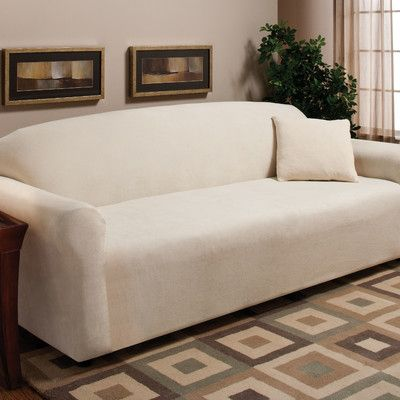 Madison Home Stretch Microfleece Sofa Slipcover. 132 best Sofa Seat covers images on Pinterest