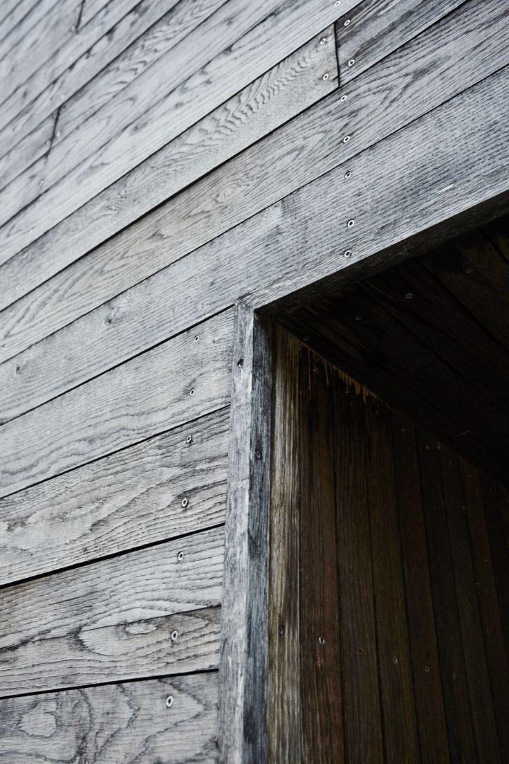 Trefasade Arkitekt: wood a+d Foto: Einar Aslaksen
