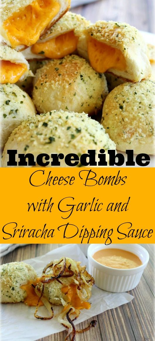 These are accurately named Incredible Cheese Bombs. Melted cheese wrapped in buns hot out of the oven. These will disapp…