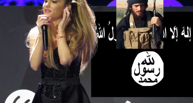 Ariana Grande radicalized by Abu Mohammad al-Adnani's ramadan message according to intelligence sources and has been recruited by ISIS.