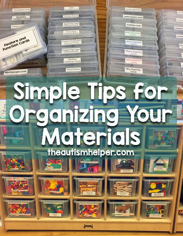 Easy Ideas for Organizing Your Supplies