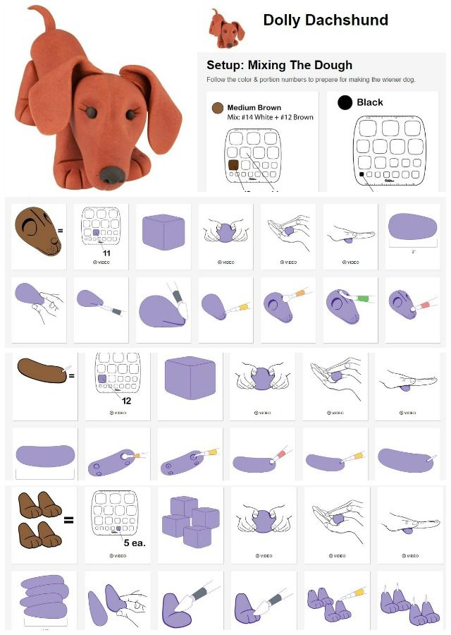how to make and use fondant