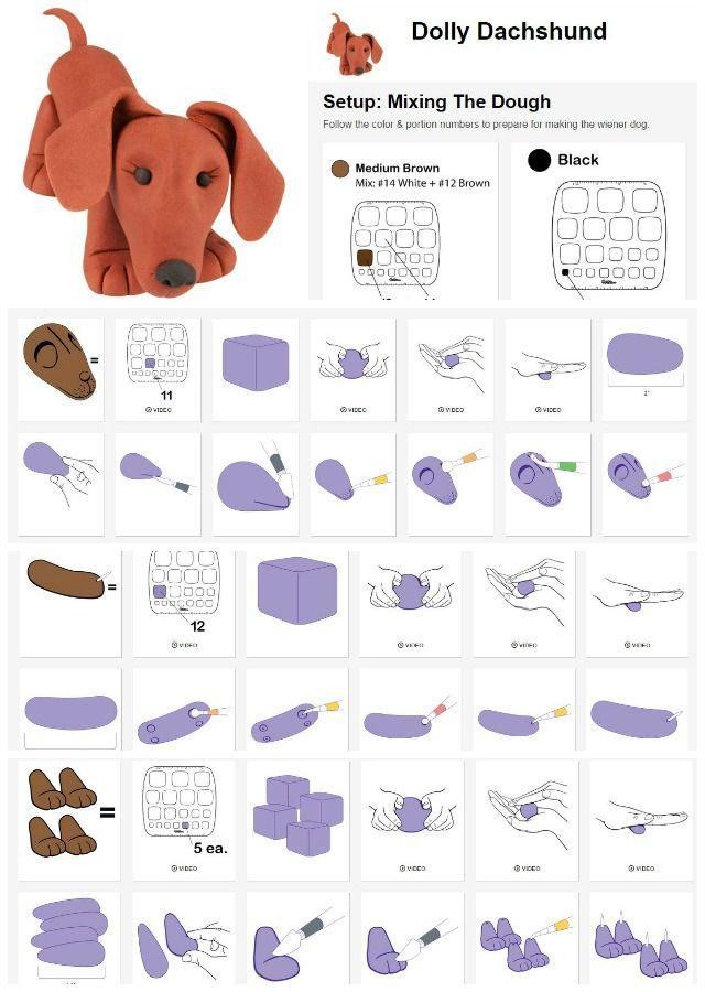 Use the Wilton Method to make a Fondant Autograph Dog for Graduation