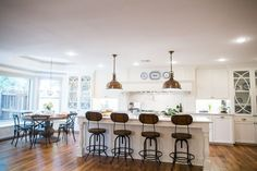 """""""Fixer Upper"""" – House in the Woods (season 3 episode 3) KITCHEN AFTER (view 2) – Magnolia Market"""