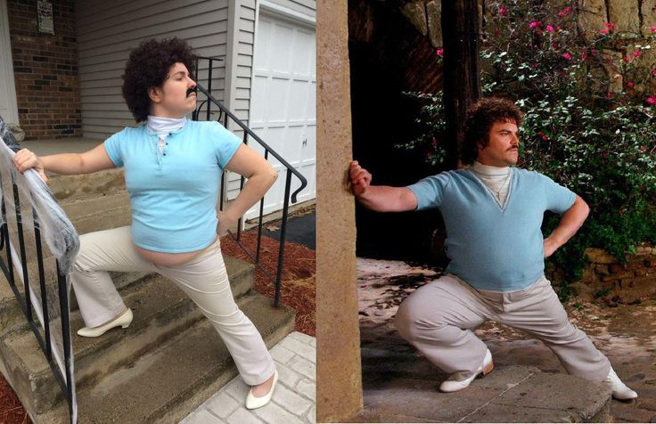 My pregnant belly helped me this Halloween. I present to you: Nacho Libre Maternity Wear http://ift.tt/2hvEt1N