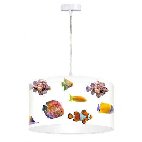 Lampa wisząca Kolorowe rybki