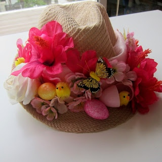 Heather Designs: DIY Easter crafts 2 - How to make an Easter Bonnet ! idea for easter bonnet parade
