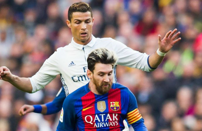 Ronaldo trumped by 'best player in history' Messi – Xavi  http://abdulkuku.blogspot.co.uk/2017/05/ronaldo-trumped-by-best-player-in.html
