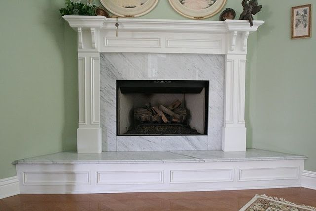 35 best images about tam on pinterest mantels mantles for White marble fire surround
