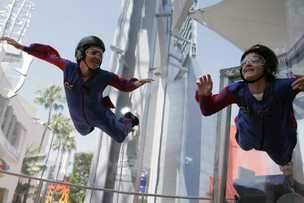 indoor skydiving at iFLY Seattle. It is safe for kids, challenging for adults, exciting for teens and realistic for skydivers. No experience necessary and it is great fun for all ages, three and up!