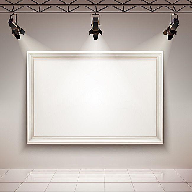 Decorative Frame On White Background Lighting V 2020 G Dizajn