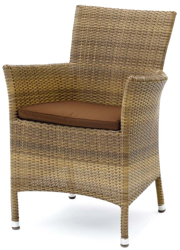 SHOP-PARADISE.COM:  Polyrattan Sessel Astena mit Auflage 104,99 €