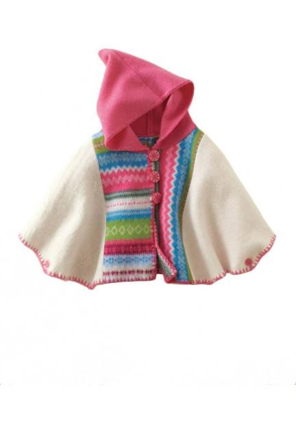 Garnet Hill Boiled Wool Alpine Cape imade Elle Magazine's list of gifts under one hundred dollars!