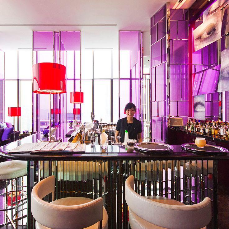 Woobar on the 31st floor of design hotel W Taipei