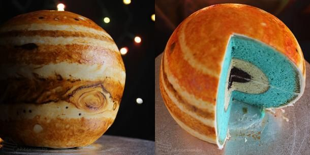 This is awesome! Jupiter cake crafted from deliciously accurate layers http://cnet.co/16ztuWQ