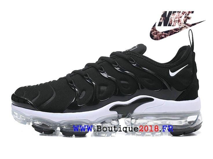 buy online be50f bd800 Nike Air VaporMax Plus Chaussures Nike TN 2018 Pas Cher Pour Cher Pour  Homme Noir Blanc