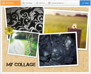 Create a Custom Collage With These Free Photo Collage Makers: Photovisi