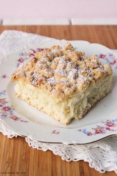 Hefe - Streuselkuchen