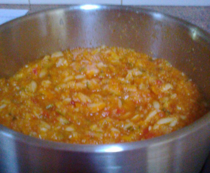 Recipe Vegetable, Bacon And Risoni Soup by Pingping - Recipe of category Soups